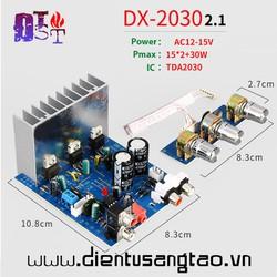 Mạch khuếch đại âm thanh DX-2030 2.1