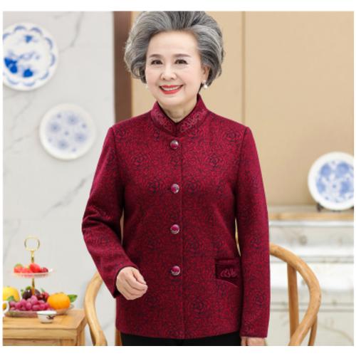 Áo khoác  dài tay thời trang trung niên thanh lịch