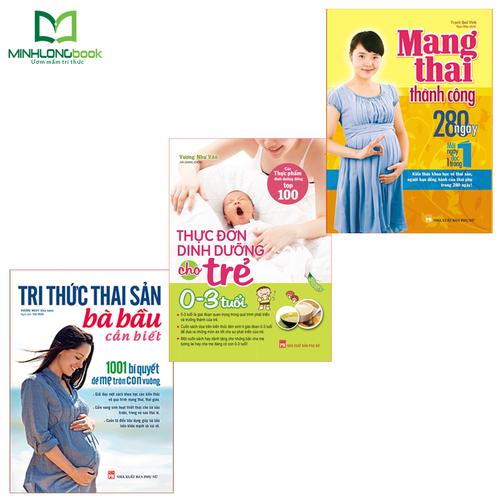 Combo sách: tri thức thai sản + mang thai thành công + thực đơn dinh dưỡng cho trẻ từ 0-3 tuổi - 18918158 , 21654736 , 15_21654736 , 298000 , Combo-sach-tri-thuc-thai-san-mang-thai-thanh-cong-thuc-don-dinh-duong-cho-tre-tu-0-3-tuoi-15_21654736 , sendo.vn , Combo sách: tri thức thai sản + mang thai thành công + thực đơn dinh dưỡng cho trẻ từ 0-3