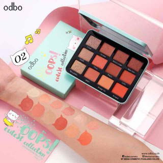 phấn mắt 12 ô odbo oops cutest collection - OD212 sale thumbnail
