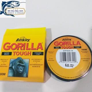 Cước câu Mỹ GORILLA 100m siêu bền - Cước câu cá siêu rẻ thumbnail