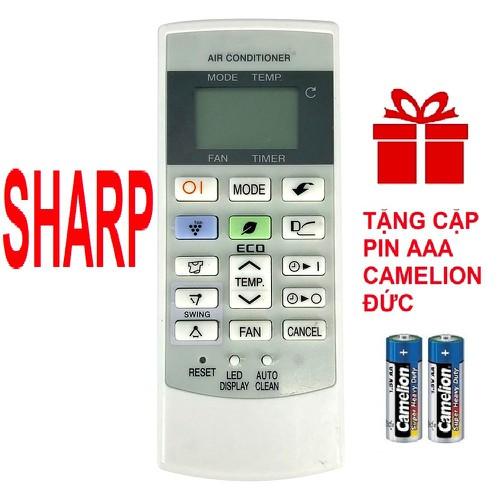 Remote điều khiển máy lạnh sharp crmc-a876kbez - điều khiển điều hòa sharp