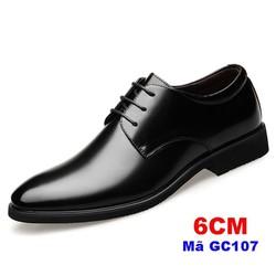Giày tây nam nâng chiều cao 6cm-GC107