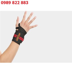 Đai quấn bảo vệ cổ tay khi tập Gym BOER Xỏ ngón cái - Băng bảo vệ cổ tay - Đai bảo vệ cổ tay Gym BOER