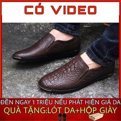 giày lười nam da bò-giày lười nam da bò