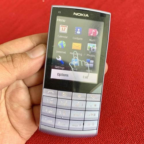 Điện thoại cổ nokia x3-02 tím hiếm và zin chính hãng - 13429345 , 21650142 , 15_21650142 , 999000 , Dien-thoai-co-nokia-x3-02-tim-hiem-va-zin-chinh-hang-15_21650142 , sendo.vn , Điện thoại cổ nokia x3-02 tím hiếm và zin chính hãng