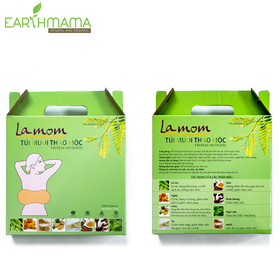 Túi muối thảo mộc Lamom Giảm béo bụng sau sinh - TMTML