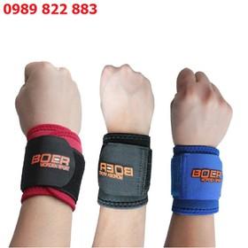 Đai quấn bảo vệ cổ tay BOER - Băng bảo vệ cổ tay - Băng tay tập Gym - Đai quấn bảo vệ cổ tay BOER