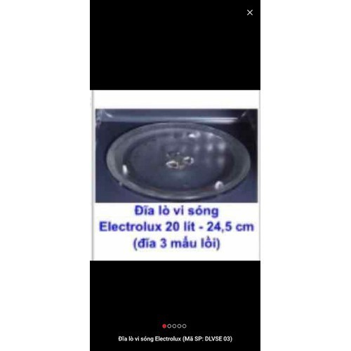 Đĩa lò vi sóng electrolux 20 lít 245mm mấu lõm - 19327161 , 21676946 , 15_21676946 , 159000 , Dia-lo-vi-song-electrolux-20-lit-245mm-mau-lom-15_21676946 , sendo.vn , Đĩa lò vi sóng electrolux 20 lít 245mm mấu lõm