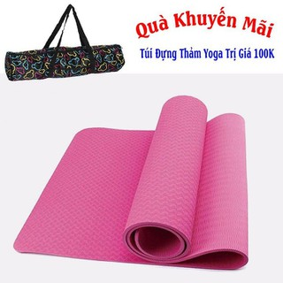 Thảm Tập Yoga TPE - TPE 1 Lớp 6mm+Túi thumbnail