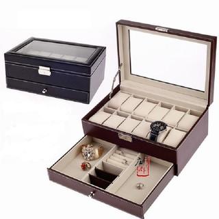 hộp đựng đồng hồ- hộp đựng đồng hồ 2 tầng- hộp đựng đồng hồ - hộp đựng đồng hồ- hộp đựng thumbnail