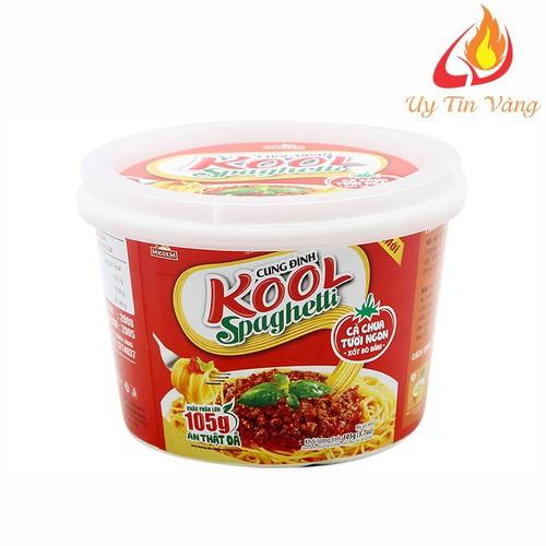 Mì Cung Đình Kool Sốt Spaghetti Hương Vị Thịt Bò Bằm Và Cà Chua dạng hộp - cungdinh1