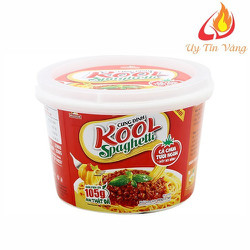 Mì Cung Đình Kool Sốt Spaghetti Hương Vị Thịt Bò Bằm Và Cà Chua dạng hộp