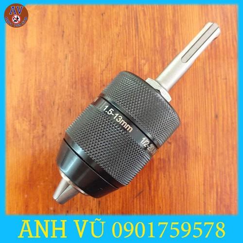 Bộ chuyển đầu cặp mũi khoan1.5-13mm autolock cho khoan bê tông
