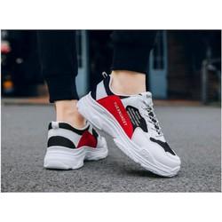 Giày nam thể thao vải lưới thoáng mát ôm chân dễ kết hợp trang phục đế tổng hợp siêu bền giaynam M18