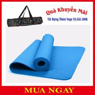 Thảm Tập Yoga - TPE 1 Lớp 6mm+Túi thumbnail