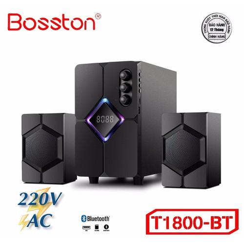 Loa 2.1 bosston t1800-bluetooth-led rgb - ac 220v