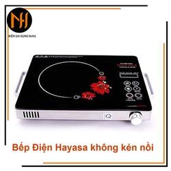 Bếp hồng ngoại tay cầm cao cấp Hayasa Việt Nam Ha-86 Đen