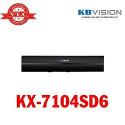 Đầu Ghi Hình 4 Kênh + 1 Kênh IP -  5 in 1 KBVISION KX-7104SD6 - Hàng Chính Hãng