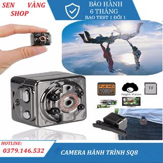 Camera Hành Trình - [Tặng Thẻ Nhớ 16G] Camera Hành Trình SQ8 Full HD 1080P