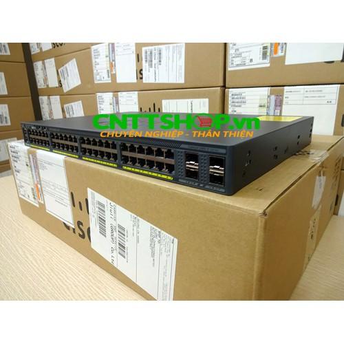 Switch cisco ws-c2960x-48ts-l catalyst 2960-x 48 gige, 4 x 1g sfp, lan base
