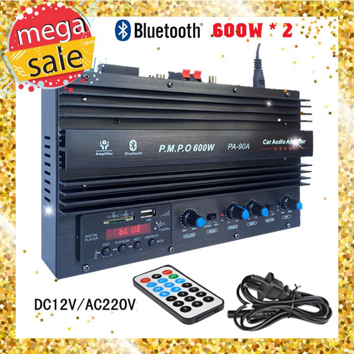 Bộ khuếch đại âm thanh Bluetooh PA-90A 1200W