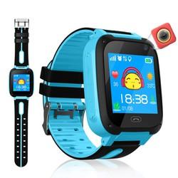 Tặng kèm cáp sạc - Đồng hồ định vị thông minh cảm ứng tiếng việt cho bé - lắp sim nghe gọi, học toán, đèn pin, chụp hình, chống nước tiêu chuẩn ip65......