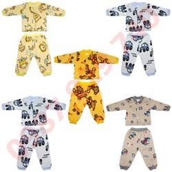 Combo gồm 5 Bộ quần áo nỉ lót bông cực đẹp cho bé trai từ 4-14 kg _BNTC - ảnh thật - bộ quần áo thu đông cho bé, bộ nỉ bông