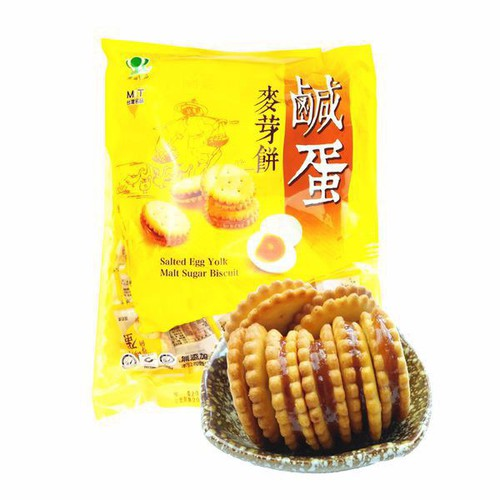 Freeship 99k toàn quốc_bánh quy trứng muối đài loan gói 500g