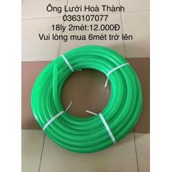 Ống nước nhựa PVC 18ly