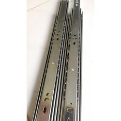 Thanh ray bi inox trượt 40cm dùng cho hộc tủ bàn - Loại tốt