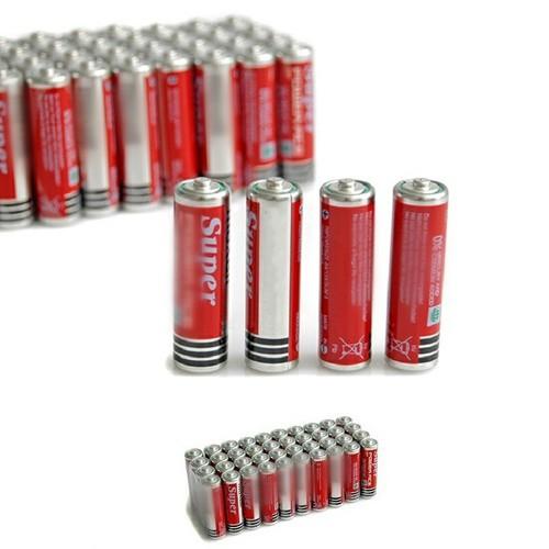 Pin aaa tem bạc 1 hộp 40v pin nhỏ tiện lợi