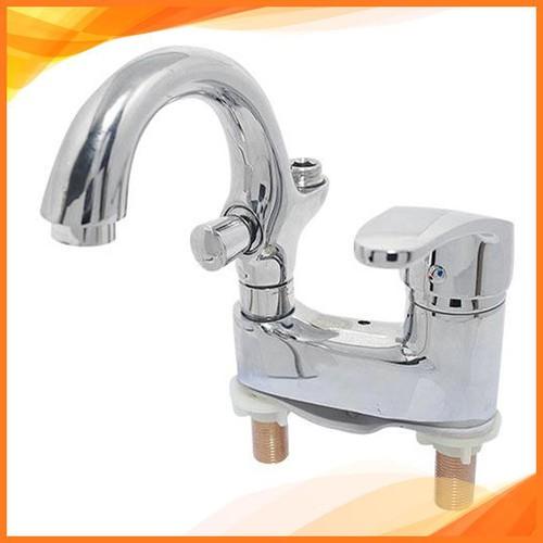 Bộ vòi chậu lavabo kết hợp sen tắm nóng lạnh - sen liền vòi - vòi chậu liền sen 4012