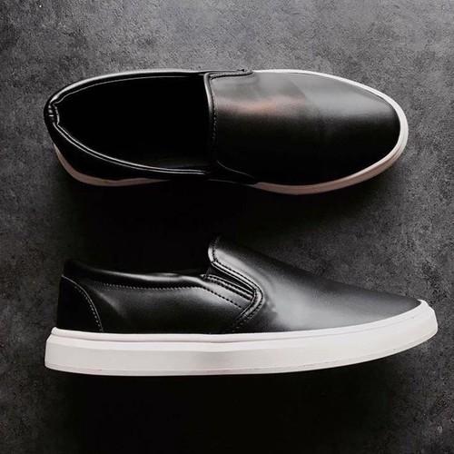 [Full-Box]-Giày slipon lịch lãm - giày lười da lịch lãm