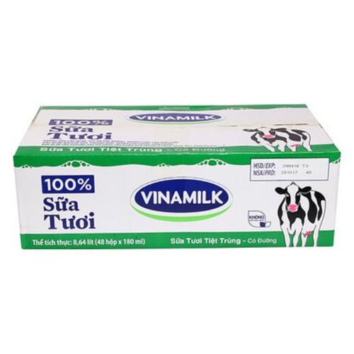 Thùng 48 hộp sữa tươi vinamilk có đường 180ml - 13462774 , 21719896 , 15_21719896 , 320000 , Thung-48-hop-sua-tuoi-vinamilk-co-duong-180ml-15_21719896 , sendo.vn , Thùng 48 hộp sữa tươi vinamilk có đường 180ml