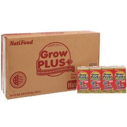 NỬA THÙNG 24 hộp sữa bột pha sẵn NutiFood Grow Plus đỏ 180ml