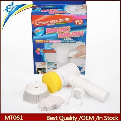 Máy vệ sinh làm sạch vết bẩn 5 trong 1 magic brush - 13456681 , 21712717 , 15_21712717 , 145000 , May-ve-sinh-lam-sach-vet-ban-5-trong-1-magic-brush-15_21712717 , sendo.vn , Máy vệ sinh làm sạch vết bẩn 5 trong 1 magic brush