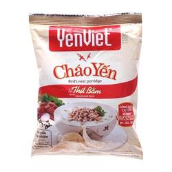 Lốc 5 Cháo Yến Vị Thịt Bằm Yến Việt Gói 50G