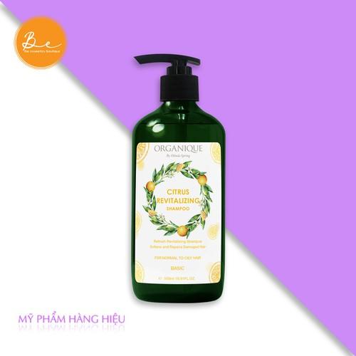 Dầu gội phục hồi tóc citrus thiên nhiên organique