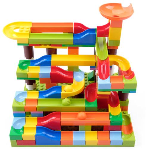 Đồ chơi lắp ghép lăn bi mô hình mini gồm 206 chi tiết đồ chơi trẻ em
