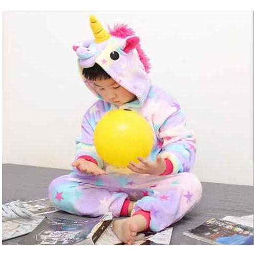Bộ đồ thú unicorn sao - đủ size trẻ em