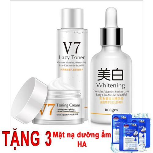Bộ 3 món mỹ phẩm trị nám tàn nhang ngăn ngừa mụn v7 toning skin images gồm nước hoa hồng - kem dưỡng da -tinh chất dưỡng - 13451494 , 21706976 , 15_21706976 , 380000 , Bo-3-mon-my-pham-tri-nam-tan-nhang-ngan-ngua-mun-v7-toning-skin-images-gom-nuoc-hoa-hong-kem-duong-da-tinh-chat-duong-15_21706976 , sendo.vn , Bộ 3 món mỹ phẩm trị nám tàn nhang ngăn ngừa mụn v7 toning ski