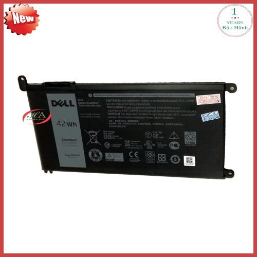 Pin laptop dell inspiron 157000 2-in-1 42 wh