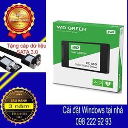 SSD 240GB Western Digital Green Sata 3 Chính Hãng