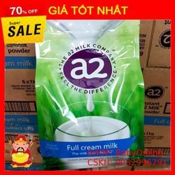 Sữa A2, Sữa tươi dạng bột A2 nguyên kem 1kg của ÚC DATE MỚI NHẤT