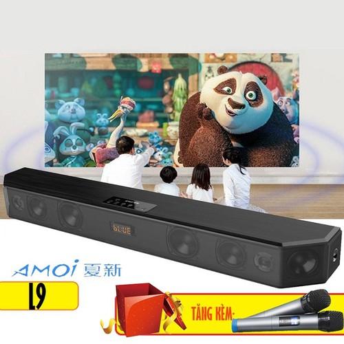 Loa soundbar 5.1 bluetooth hát karaoke amoi l9 tặng kèm 2 micro không dây - 13465061 , 21722737 , 15_21722737 , 3985000 , Loa-soundbar-5.1-bluetooth-hat-karaoke-amoi-l9-tang-kem-2-micro-khong-day-15_21722737 , sendo.vn , Loa soundbar 5.1 bluetooth hát karaoke amoi l9 tặng kèm 2 micro không dây