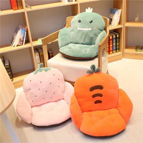 Ghế văn phòng | đệm ghế | đệm ghế xinh | đệm ghế văn phòng hình ngộ nhĩnh siêu cute