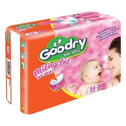 Miếng lót sơ sinh Goodry 72 miếng, 56 miếng