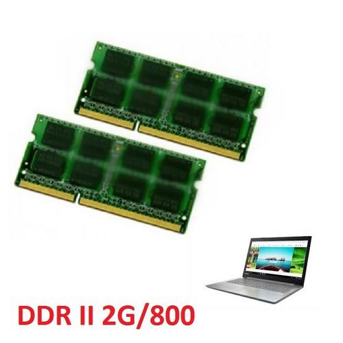 Ddram ii 2gbus 800 laptop máy bộ giá rẽ bất ngờ