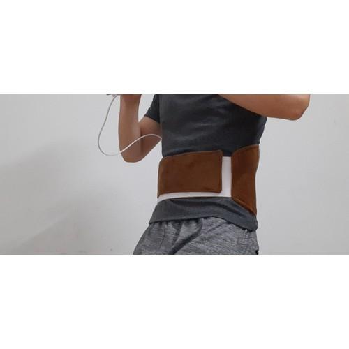 Đai quấn nóng massage trị liệu vùng lưng và bụng